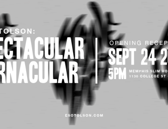 """Spectacular Vernacular"" Exhibition coming September 24, 2016"